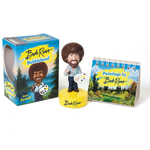 Bob Ross Bobblehead: With Sound