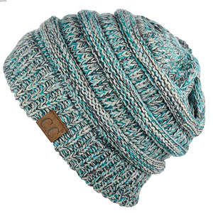 C.C Trendy Cable Knit Beanie