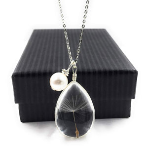 Dandelion Wish Pendant