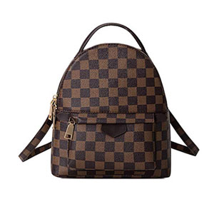 Gerosse Checkered Backpack