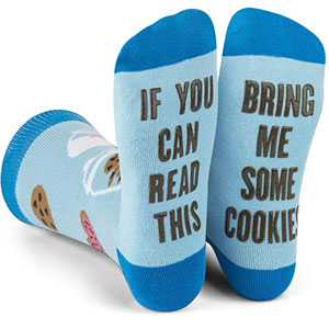 If You Can Read This Bring Me Novelty Socks