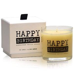 Lulu Vanilla Cupcake Birthday Candle