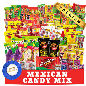 Mexican Candy Assortment Snacks