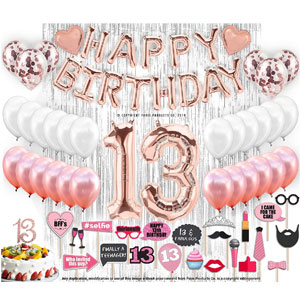 PARIS PRODUCTS CO. Teen Birthday Decorations