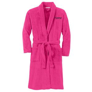 Personalized Plush Microfleece Robe