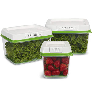 Rubbermaid FreshWorks Storage Container