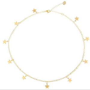 S.J JEWELRY Star Choker