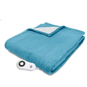 Serta Electric Throw Blanket