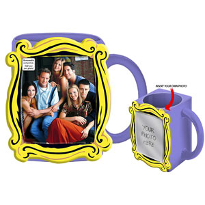 Silver Buffalo Friends Photo Mug