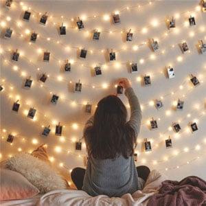 Twinkle Star Fairy Copper String Lights