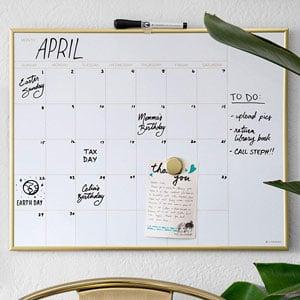 U Brands Dry Erase Board Calendar