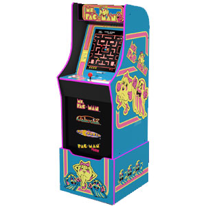 Arcade1Up Ms. Pac-Man Arcade Cabinet