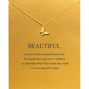 Baydurcan Friendship Anchor Compass Necklace