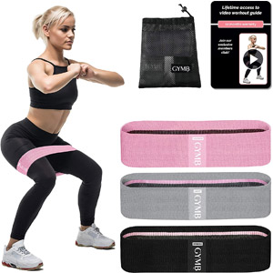 Booty 3 Resistance Bands for Legs