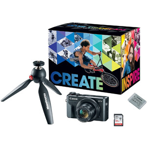 Canon PowerShot G7X Mark II Video Creator Kit