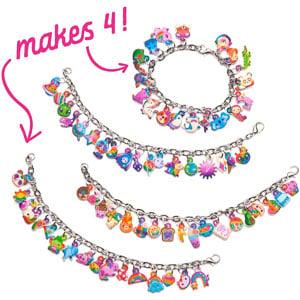 Craft-tastic Sparkle Charm Bracelets