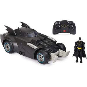 DC Batman Launch & Defend Batmobile Figure Ejecting RC