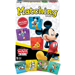 Disney Mickey Mouse & Friends Matching Game