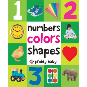 First 100 Numbers Colors Shapes