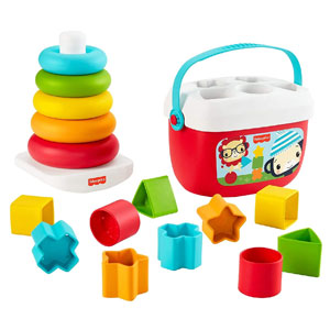 Fisher-Price Babys First Blocks & Rock-a-Stack