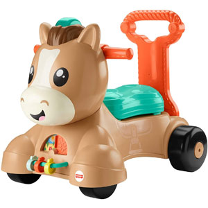 Fisher-Price Walk, Bounce, & Ride Pony