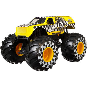 Hot Wheels Monster Trucks 1:24 Scale Die-Cast Asst