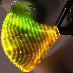 LED Light up Face Mask