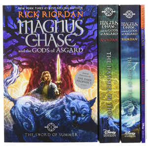 Magnus Chase and the Gods of Asgard, 3 Book Set