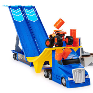 Monster Jam Transforming Hauler Playset