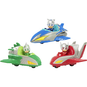 PJ Masks Save The Sky Vehicles