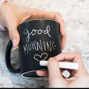 Personalized Chalkboard Ceramic Coffee Mug