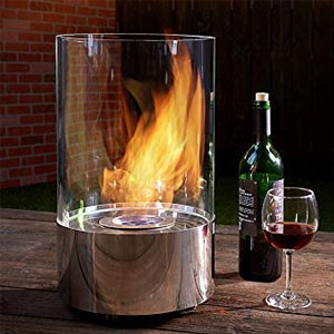 Sharper Image Tabletop Round Fireplace