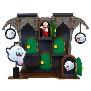 Super Mario Deluxe Boo Mansion Playset