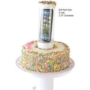 Surprise Cake Musical Popping Cake Stand