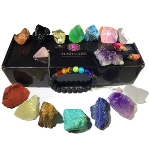 Tesh Care Chakra Therapy Crystals kit