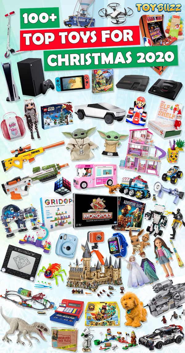 Top Toys For Christmas 2020 [Toy Buzz List of BEST Toys]
