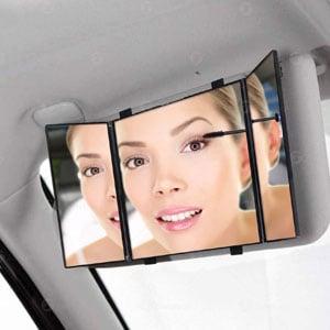 Zone Tech Car Vanity Mirror
