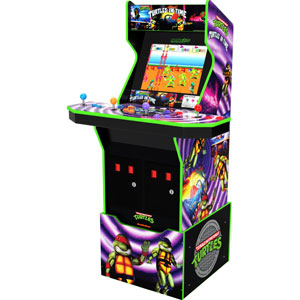 Arcade1Up Turtles In Time Arcade Cabinet