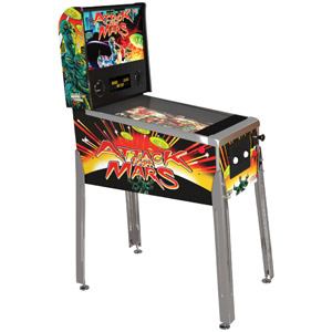 Arcade1Up Williams Bally Attack From Mars Digital Pinball