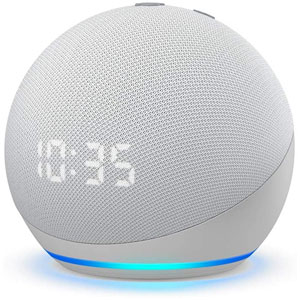 Echo Dot With Clock (4rd Gen)