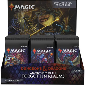 Magic: The Gathering Adventures in the Forgotten Realms Set Booster Box