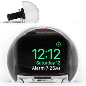 NightWatch Magnifying Apple Watch Clock Dock