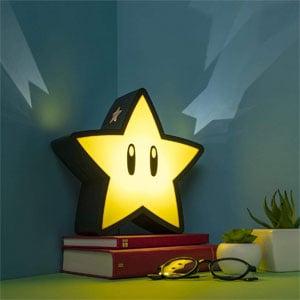 Paladone Super Mario Super Star Lamp
