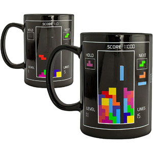 Tetris Heat Changing Ceramic Coffee Mug