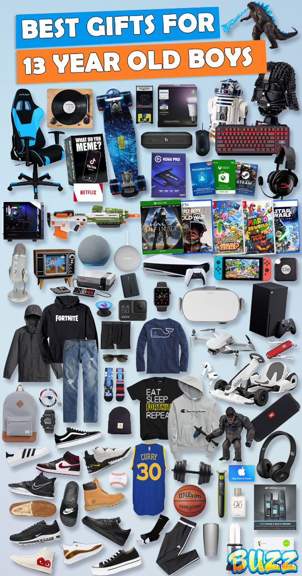 Gifts for 13 Year Old Boys