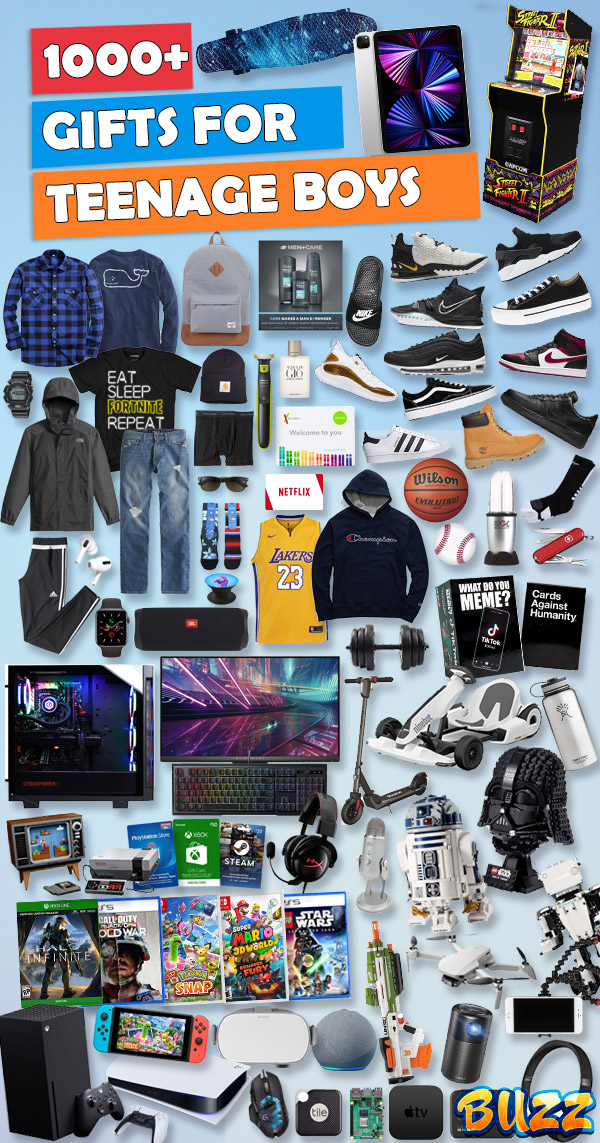 Best Boy Christmas Gifts 2021 Gifts For Teen Boys 2021 Updated Christmas Gift List