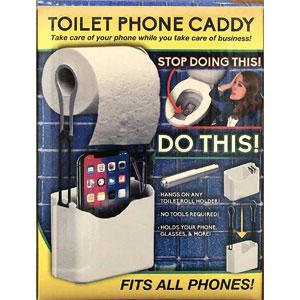 Azzure Toilet Phone Caddy