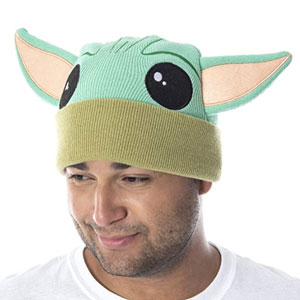 Baby Yoda Beanie for Adults
