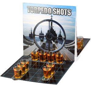 Barbuzzo Torpedo Shots