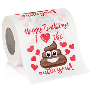 Papier hygiénique nouveauté anniversaire